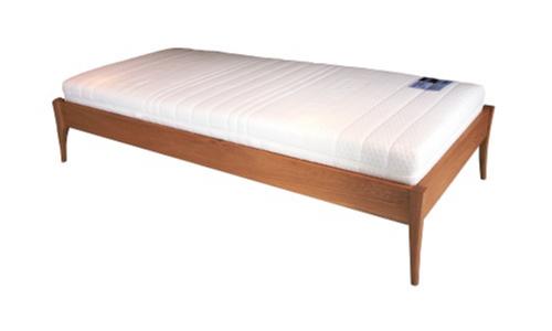 無垢材ベッドフレーム「OLIVE」オークヘッドボードなし