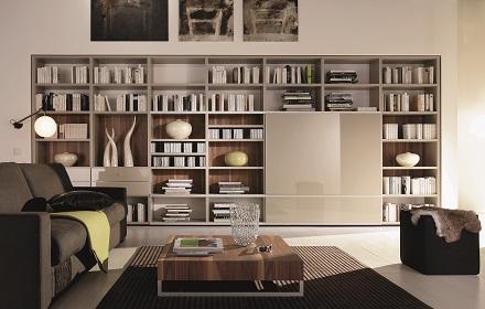 ヒュルスタ 大容量の書棚