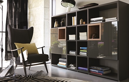 ヒュルスタ コンパクトな書棚