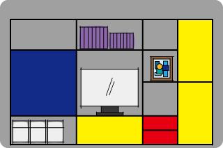 ヒュルスタが生み出したシステム収納家具