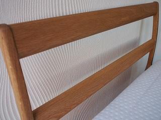 無垢材ベッドフレーム「OLIVE」ヘッドボード
