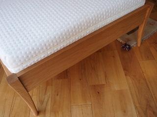 無垢材ベッドフレーム「OLIVE」レッグ