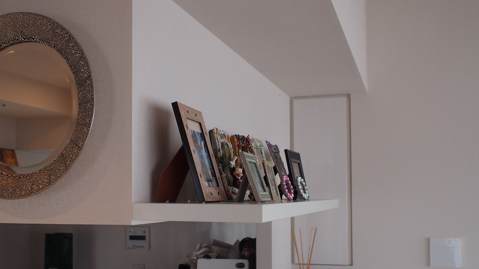 納品事例-4 (wallshelf)