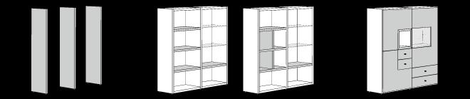ヒュルスタ パネルシステム収納の考え方