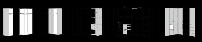 ヒュルスタ ワードローブシステム収納の考え方